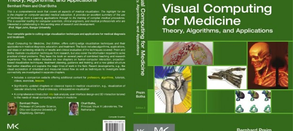 cover design of Visual Computing for Medicine